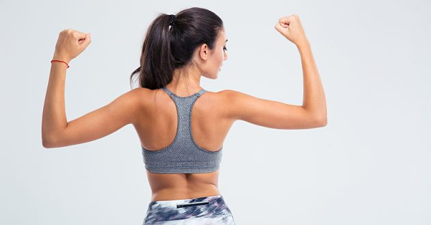 woman-flexing-arm-muscles