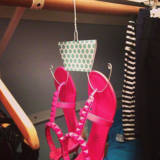 Shoe-Hangers