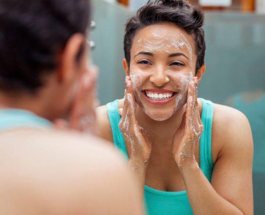 CWACRF Woman washing face