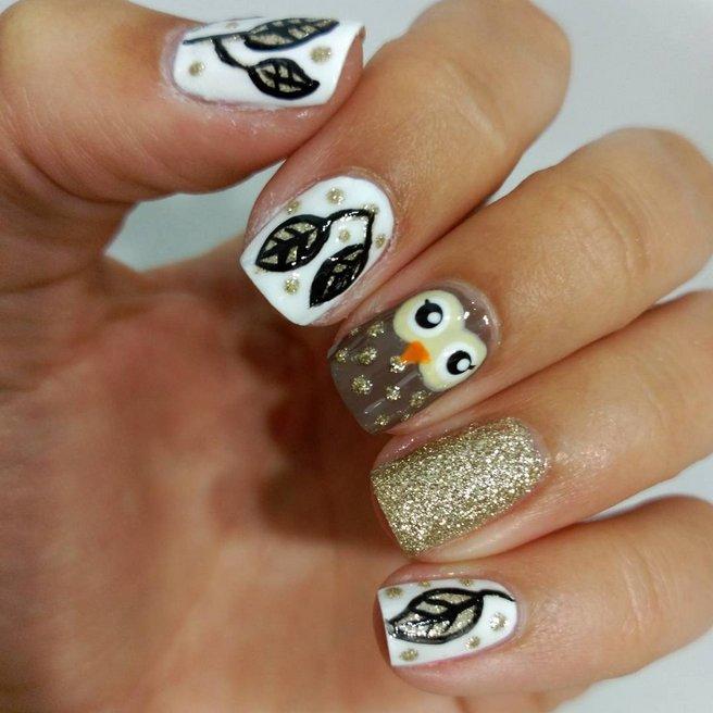φθινοπωρινά νύχια