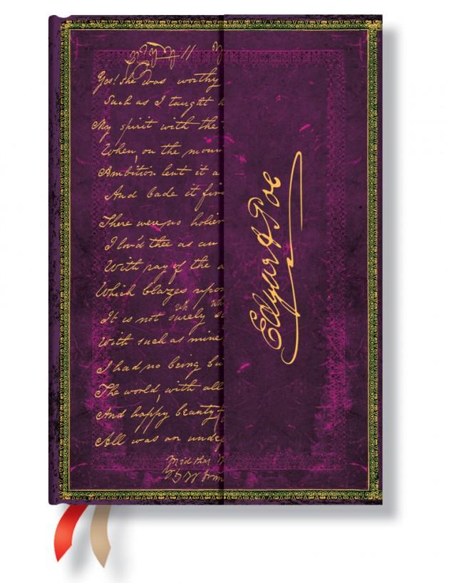 Paperblanks ημερολόγιο Poe Tamerlane 13.95