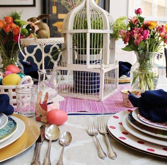5 ιδέες διακόσμησης για να κάνεις το πασχαλινό τραπέζι σου να ξεχωρίσει