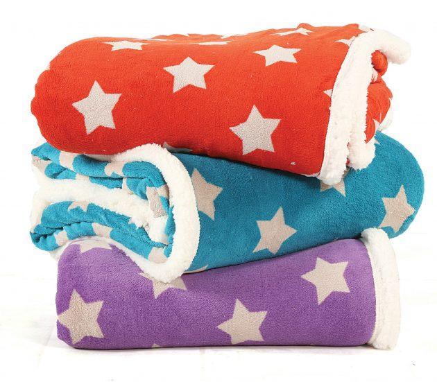 Κουβέρτες καναπέ Night Stars