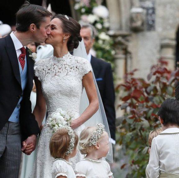 Η αδερφή της Δούκισσας του Κέιμπριτζ παντρεύτηκε: Δείτε τις φωτογραφίες από τον εντυπωσιακό γάμο!