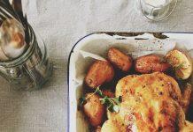 πατάτες κοτόπουλο
