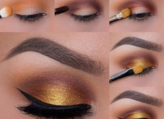 ομορφιά-μακιγιάζ-και-κίτρινο-χρυσό-η-ν