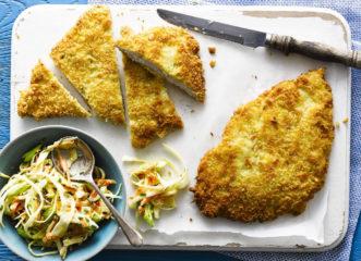 σνίτσελ-κοτόπουλου-στο-φούρνο-εύκολ