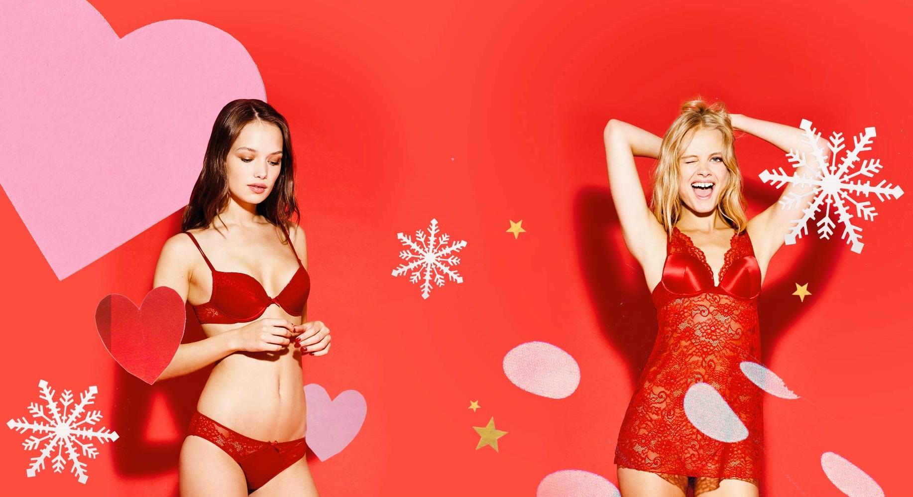 f4b07371285 Κόκκινα εσώρουχα για να σας μπει καλά το νέο έτος - Τα πιο όμορφα ...