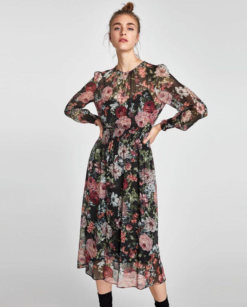 457b97dd8ec8 Τολμήστε τα floral τον χειμώνα  5 μοναδικά φορέματα