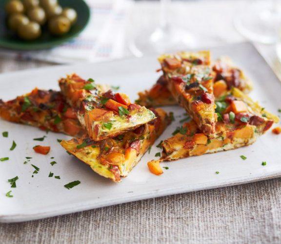 φτιάχνουμε-ομελέτα-φούρνου-σαν-πίτσα