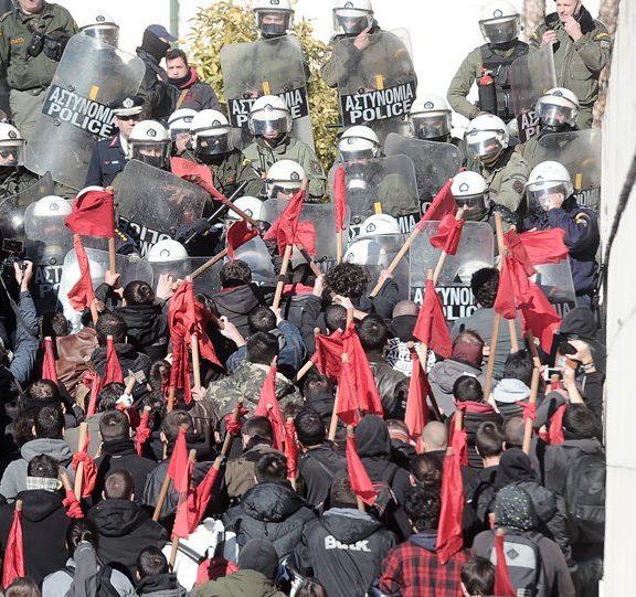 εκπαιδευτικοί-ένταση-στο-συλλαλητήρ