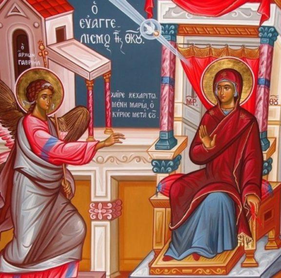 ευαγγελισμός-της-θεοτόκου-τι-γιορτάζ