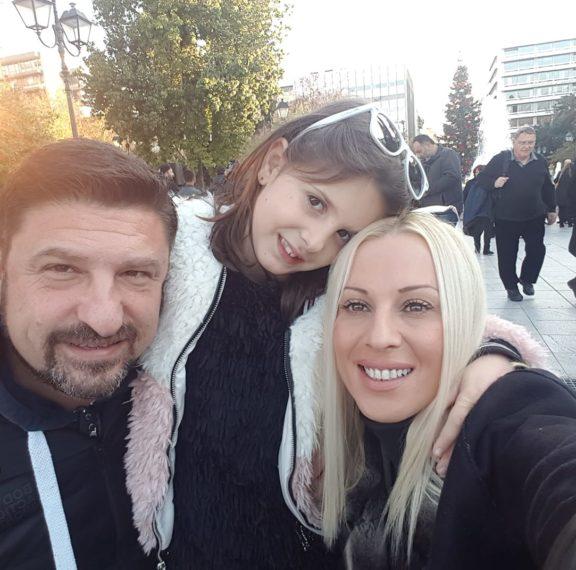 Ποιος είναι ο Νίκος Χαρδαλιάς- Πατέρας δύο κοριτσιών με πρωταθλήτρια σύζυγο