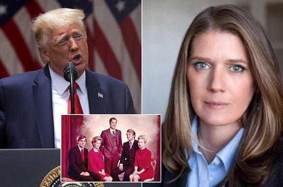 """Η ανιψιά του Ντόναλντ Τραμπ """"καίει"""" με το βιβλίο της τον """"Πιο επικίνδυνο άντρα στον κόσμο"""""""