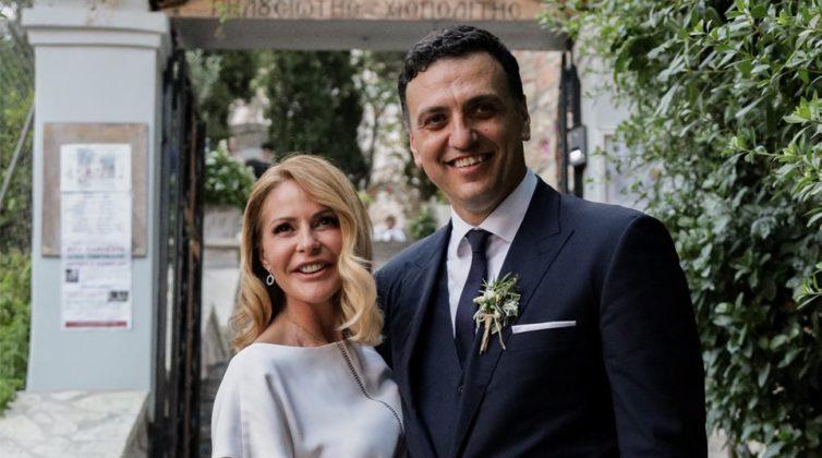 Τζένη Μπαλατσινού και Βασίλης Κικίλιας: Έτσι, θα γίνει η βάπτιση του παιδιού τους - Το τάμα και ο γιος της Μάξιμος ένας από τους νονούς!