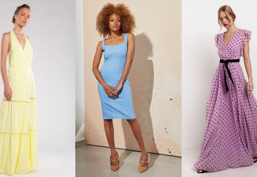 Είσαι καλεσμένη σε γάμο το καλοκαίρι; 5 stylish χρωματιστά φορέματα για να ξεχωρίσεις