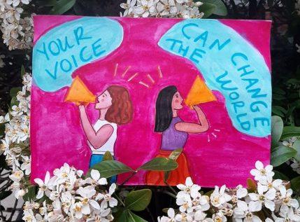 Μη μένεις σιωπηλή! Η φωνή σου μπορεί να αλλάξει τον κόσμο προς το καλύτερο