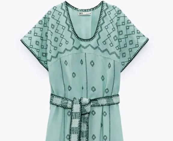 πώς-ένα-πράσινο-κεντημένο-φόρεμα-zara-δημ