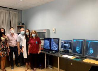 Ψηφιακή μαστογραφία με τομοσύνθεση και τεχνική Τεχνητής Νοημοσύνης στο «Έλενα Βενιζέλου»