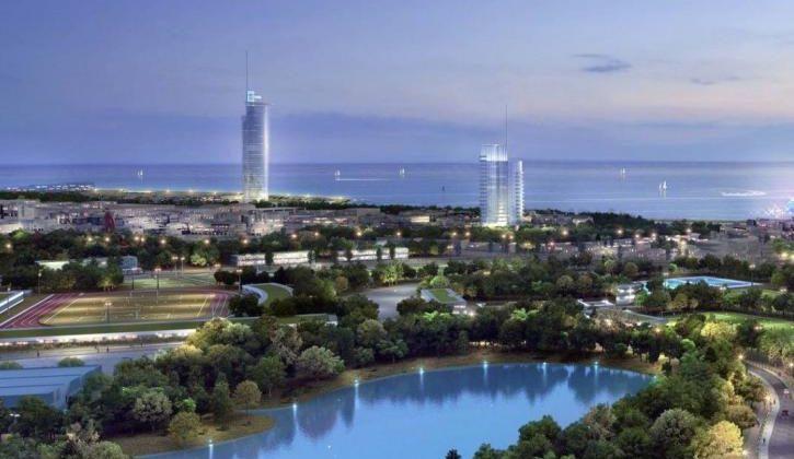 Αυτός ο παραθαλάσσιος ουρανοξύστης θα είναι το ψηλότερο κτίριο στην Ελλάδα