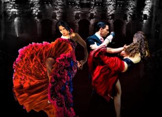 Το αργεντίνικο πάθος συναντά το μοναχικό flamenco σε μία εκρηκτική χορευτική παράσταση!