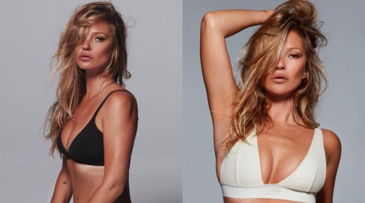 Η Κέιτ Μος είναι το νέο πρόσωπο των εσωρούχων της Κιμ Καρντάσιαν
