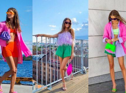 Αυτή η influencer σού δείχνει πώς να κάνεις τους καλύτερους χρωματικούς συνδυασμούς το φετινό καλοκαίρι