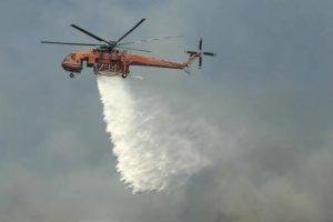 Φωτιά στην Ζήρια Αχαΐας, μήνυμα της Πολιτικής Προστασίας κατευθύνει τον κόσμο στο Αίγιο