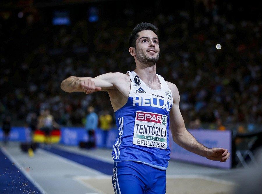 """Ο Μίλτος Τεντόγλου χρυσός Ολυμπιονίκης στο μήκος- """"Πέταξε"""" με το τελευταίο του άλμα στα 8,41μ"""