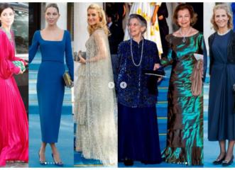 Πριγκιπικός γάμος στη Μητρόπολη: Τα συγκλονιστικά φορέματα και αξεσουάρ των καλεσμένων