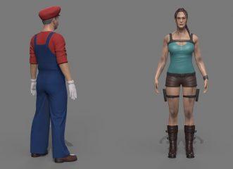 Πώς θα έμοιαζαν σήμερα Super Mario, Lara Croft και Luigi;