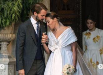 Φίλιππος Γλύξμπουργκ-Νίνα Φλορ: Ο πιο παραμυθένιος γάμος της χρονιάς έγινε... στην Αθήνα! (φωτος)