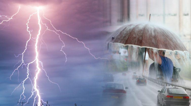 Κακοκαιρία «Μπάλλος»: Άνοιξαν οι ουρανοί στην Αττική - Μποτιλιάρισμα στους δρόμους